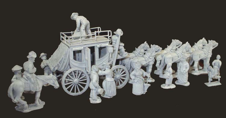 Old West - All our old west figures are a large 25mm scale
