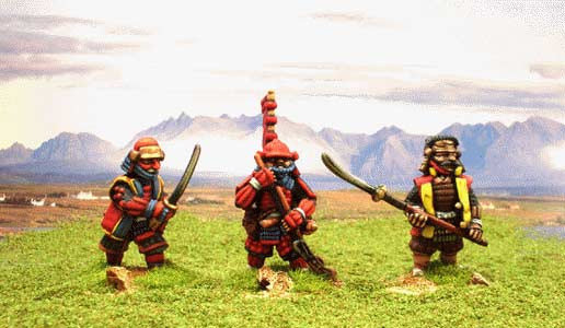 Dixon miniatures painted samurai