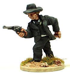 wild west series-ref kw13 The cowboy-nimix resin figurine//kenox 54 mm